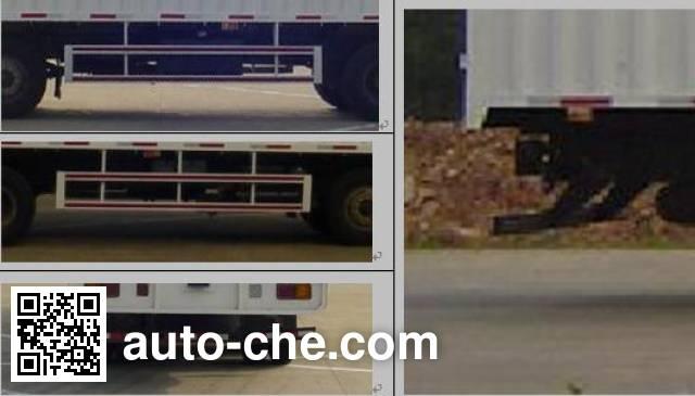 XCMG NXG5310CPY3A soft top box van truck