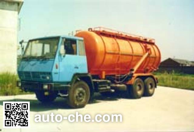 Shunfeng NYC5254ZSF wet bulk powder transport truck