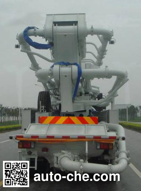 极东牌NYC5381THB混凝土泵车