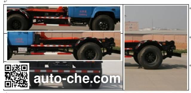 Yuchai Special Vehicle NZ5102ZXX detachable body garbage truck