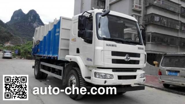 玉柴专汽牌NZ5161ZDJ压缩式对接垃圾车