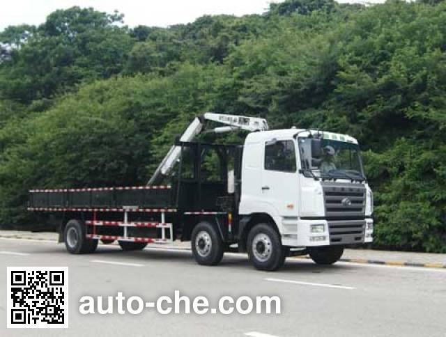 凌扬(FXB)牌PC5253JSQHL随车起重运输车