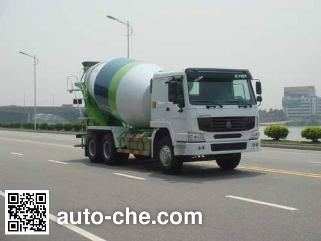 超人牌PC5250GJBHW混凝土搅拌运输车