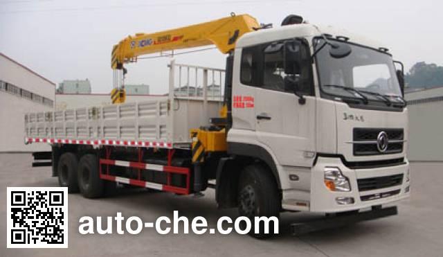 海福龙牌PC5250JSQA12随车起重运输车
