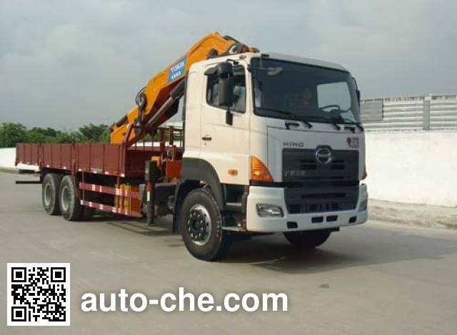 凌扬(FXB)牌PC5252JSQ4RY随车起重运输车