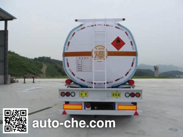 海福龙牌PC9340GYYB运油半挂车