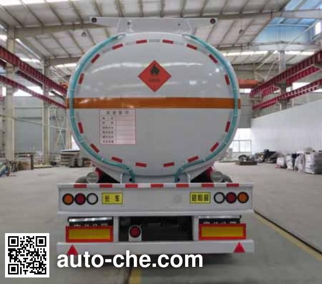 Haifulong PC9350GYYA aluminium oil tank trailer