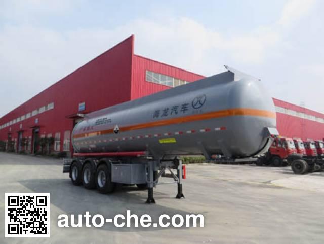 Haifulong PC9400GFW corrosive materials transport tank trailer