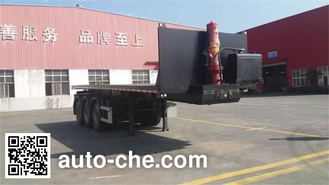 Haifulong PC9401ZZXP flatbed dump trailer
