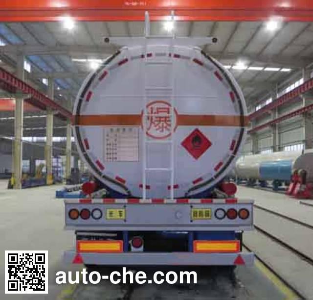 Haifulong PC9403GRYC1 flammable liquid tank trailer