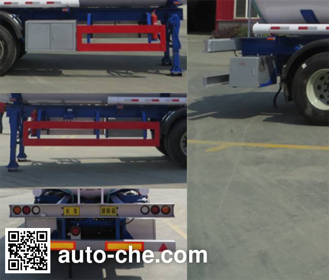 Haifulong PC9403GRYD flammable liquid tank trailer