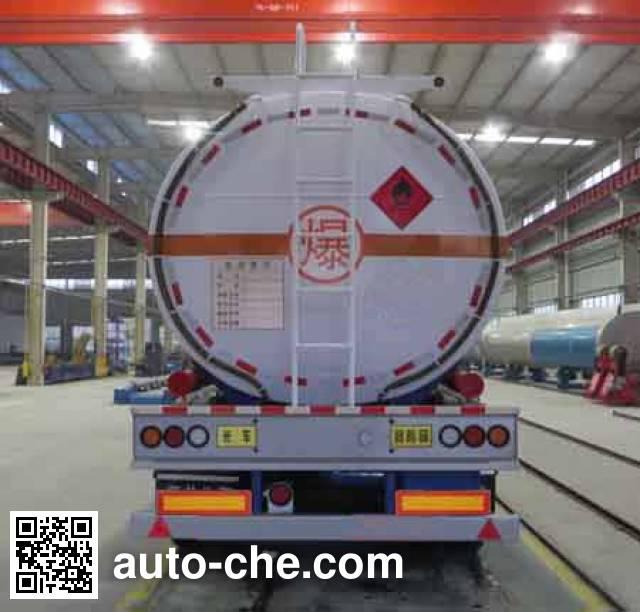 Haifulong PC9350GRY1 flammable liquid tank trailer