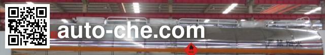 Haifulong PC9404GRY4 flammable liquid tank trailer