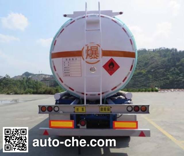 Haifulong PC9404GRYE flammable liquid tank trailer
