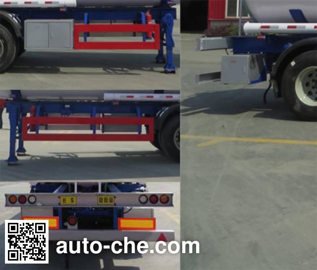 Haifulong PC9404GRYK flammable liquid tank trailer