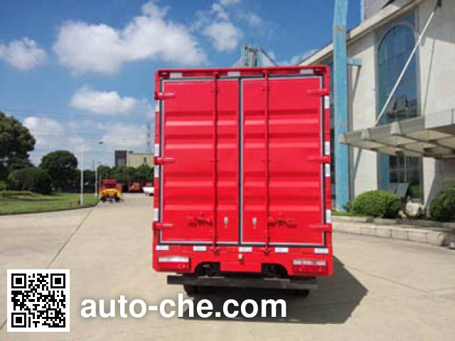 Sutong (FAW) PDZ5041XXYBE4 box van truck