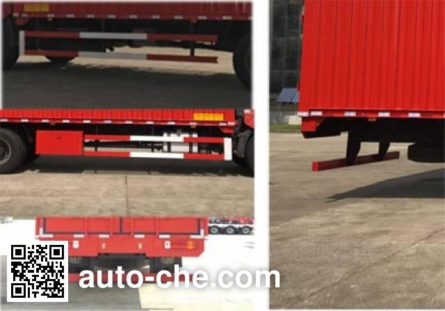 Sutong (FAW) PDZ5160XYKBE5 автофургон с подъемными бортами (фургон-бабочка)
