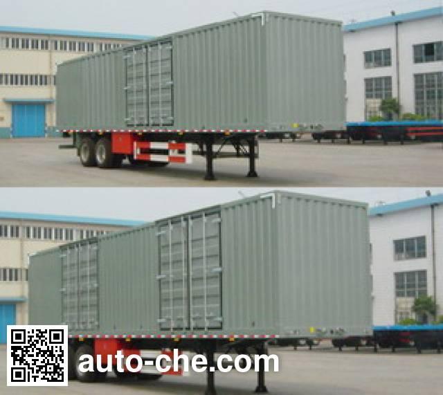 Sutong (FAW) PDZ9271XXY box body van trailer