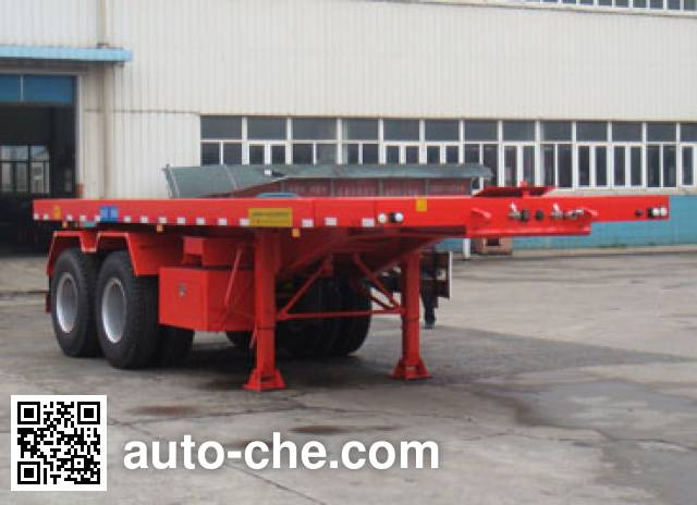 Sutong (FAW) PDZ9350ZZXP flatbed dump trailer