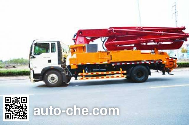 Jilu Hengchi PG5200THB concrete pump truck
