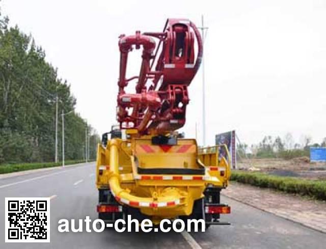 吉鲁恒驰牌PG5200THB混凝土泵车