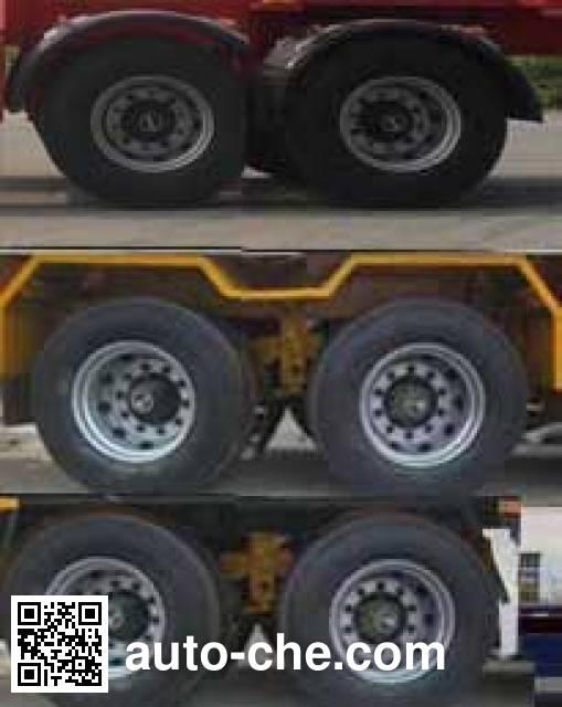 Jilu Hengchi PG9351TJZ container transport trailer