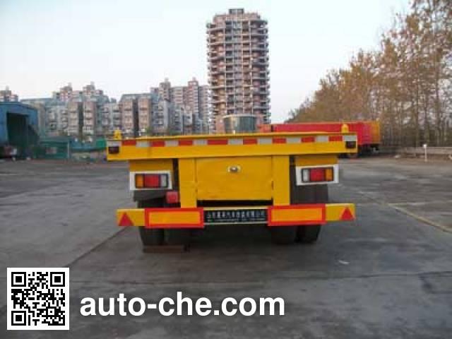 Jilu Hengchi PG9350TJZ container transport trailer