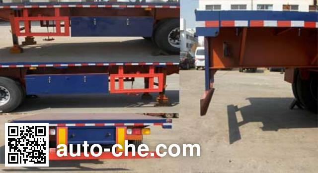 Jilu Hengchi PG9400P flatbed trailer