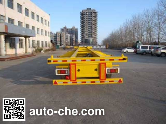 Jilu Hengchi PG9401TJZ container transport trailer