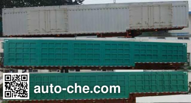 Jilu Hengchi PG9402XXY box body van trailer