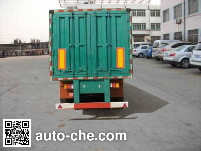 Jilu Hengchi PG9403XXY box body van trailer