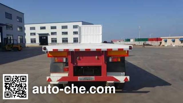 Jilu Hengchi PG9409ZZXP flatbed dump trailer