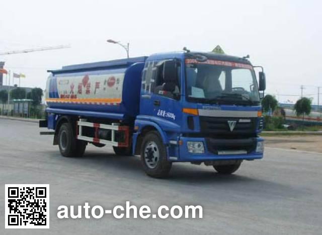 Jinbi PJQ5163GHY chemical liquid tank truck