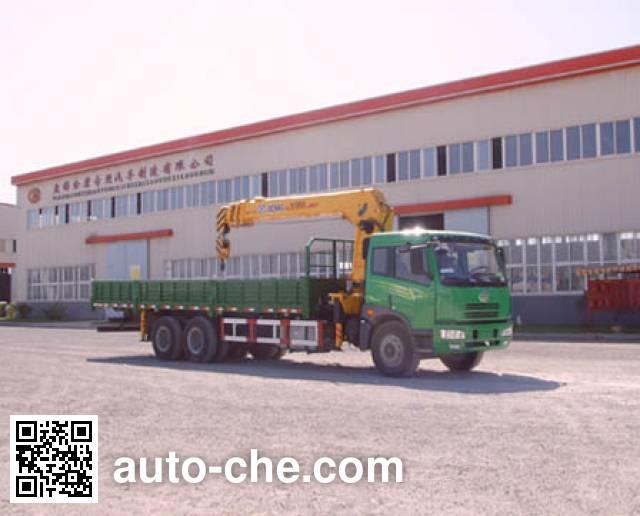 Jinbi PJQ5250JSQ truck mounted loader crane