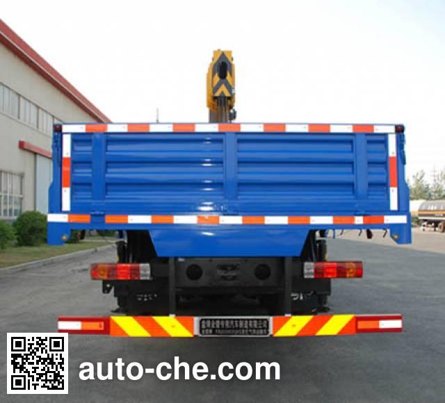 Jinbi PJQ5250JSQA truck mounted loader crane