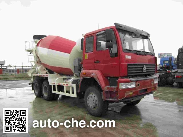 Jinbi PJQ5251GJBZZ concrete mixer truck