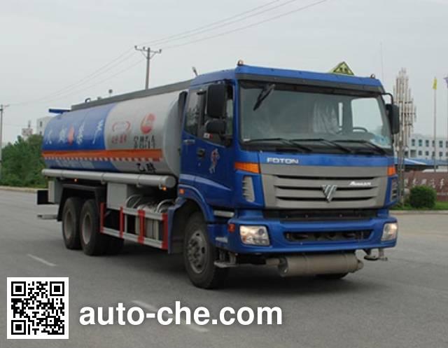 Jinbi PJQ5257GRYA flammable liquid tank truck