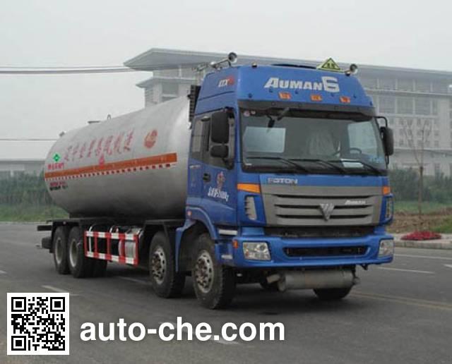 Jinbi PJQ5310GYQA liquefied gas tank truck