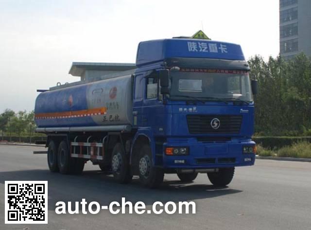 Jinbi PJQ5311GRYB flammable liquid tank truck