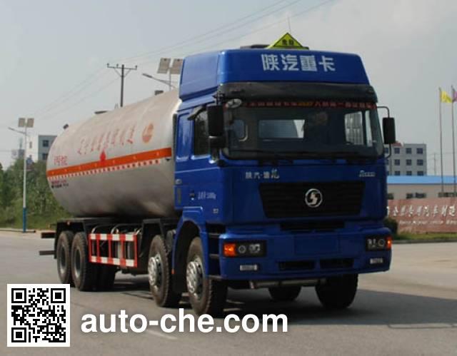 Jinbi PJQ5311GYQA liquefied gas tank truck