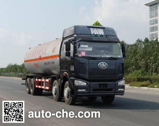 Jinbi PJQ5312GYQCA liquefied gas tank truck