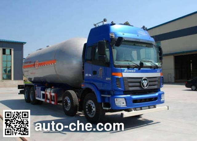 Jinbi PJQ5317GYQBJ liquefied gas tank truck