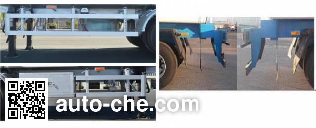 Jinbi PJQ9400GRHL lubricating oil tank trailer