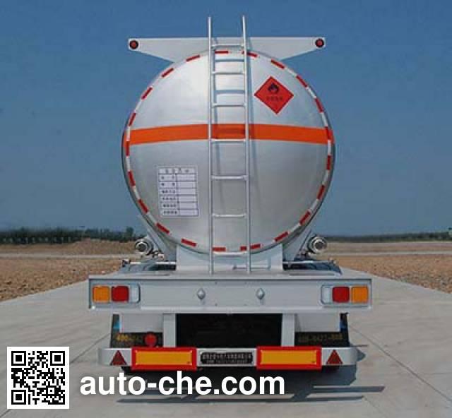 Jinbi PJQ9400GRYA flammable liquid tank trailer