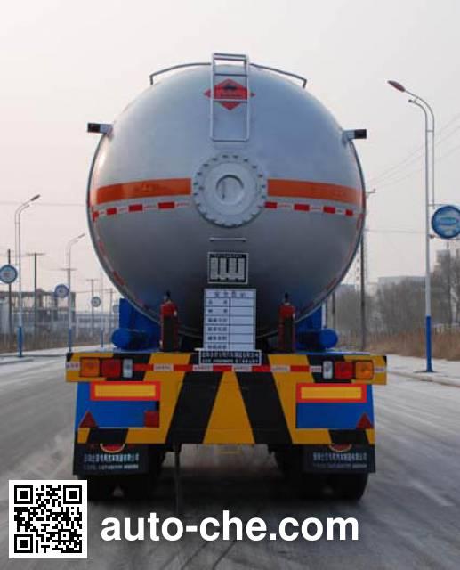 Jinbi PJQ9400GYQ liquefied gas tank trailer