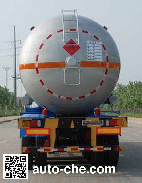 Jinbi PJQ9401GYQB liquefied gas tank trailer