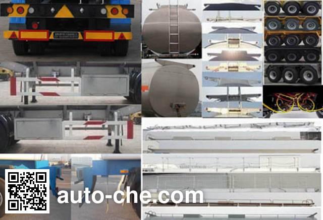 Jinbi PJQ9404GYY oil tank trailer