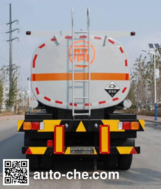 金碧牌PJQ9402GFW腐蚀性物品罐式运输半挂车