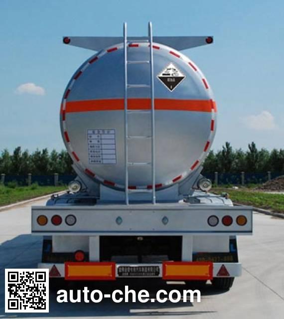 Jinbi PJQ9402GFW corrosive materials transport tank trailer