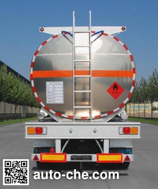 Jinbi PJQ9403GYYL aluminium oil tank trailer